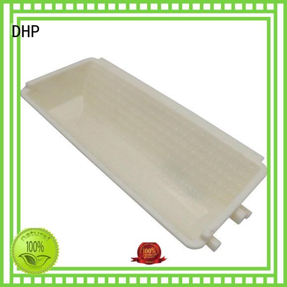 DHP beige elevator buckets manufacturer for hoist conveyor special bucket