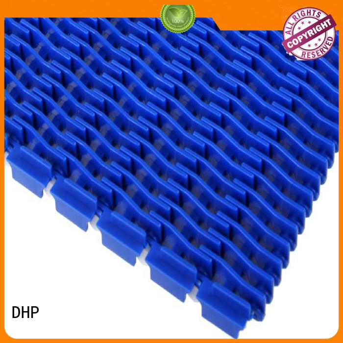 DHP wear resistant plastic conveyor belt supplier for conveyor machinery