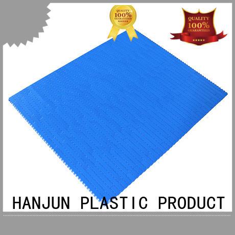 wear resistant modular conveyor belt pom material customized for food conveyor